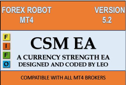 CSM EA V5.2.1 纯正的趋势交易ea,月收益达到5-15%